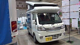 getlinkyoutube.com-【2016年最新型】軽キャンピングカー(軽自動車)INDY727(インディ727)車中泊(オートキャンプ)JAPAN CAMPING CAR SHOW