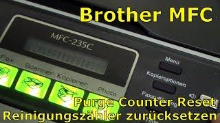 getlinkyoutube.com-Brother MFC Reinigungszähler Reset - Purge Counter zurücksetzen - [English + Nederlandse subtitles]