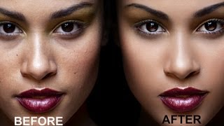 getlinkyoutube.com-Dodge & Burn Skin Retouching