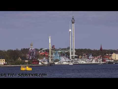 Набережная Стокгольма, Швеция / Stockholm, Sverige / Sweden