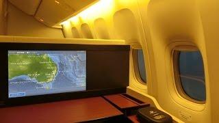 【JALファーストクラス】 JAL771便 成田 ⇒ シドニー B777-346ER / JA741J ファーストクラスの旅