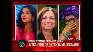 getlinkyoutube.com-Pamela Díaz se enfrenta a Patricia Maldonado por supuesta traición