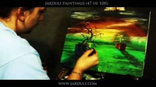 getlinkyoutube.com-47. Painting surreal sunset