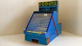 getlinkyoutube.com-Big lego coin pusher v2