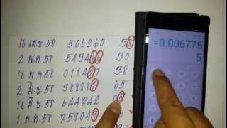 getlinkyoutube.com-lสูตรคำนวณหวยเลขบน-ล่างเด่น 1 ตัว!!! ถูก 12 งวดติด!!แม่นมากๆ