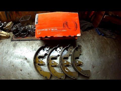 Замена тормозных колодок, Suzuki Grand Vitara 2.0 АТ 2007