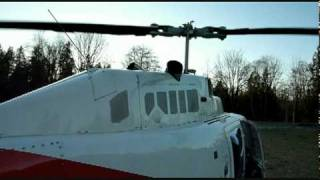 getlinkyoutube.com-Very Cool Turbine Start - Bell 206 Jet Ranger Startup