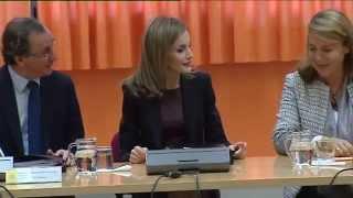 S.M. la Reina preside la reunión del Patronato de la Discapacidad