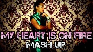 getlinkyoutube.com-Alicia Keys & Demi Lovato & Rihanna & Nicki Minaj - My Heart Is On Fire (DJ Linuxis Mash Up)