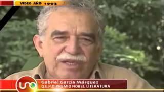García Márquez y Fidel Castro