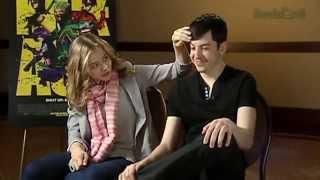 getlinkyoutube.com-Chris Mintz-Plasse and Chloe Moretz's cute moments
