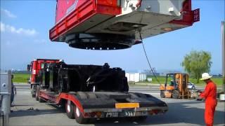 getlinkyoutube.com-200t吊りクローラークレーンとホッタ