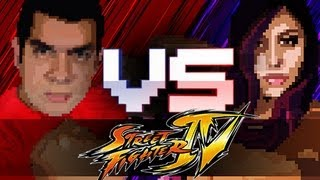 """""""GOOD GAME"""" Husband Vs. Wife - Street Fighter"""