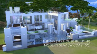 getlinkyoutube.com-The Sims 4 - House Building - Modern Seaview Coast SQ