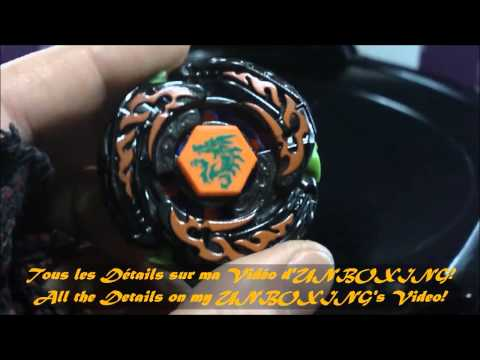 BB-108-FX L-Drago Desrtructor F:S REVIEW and TEST Beyblade Hyperblades SPARK FX (Hasbro) HD! AWESOME