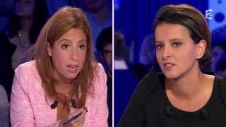 Najat Vallaud Belkacem - On n'est pas couché 25 octobre 2014 #ONPC