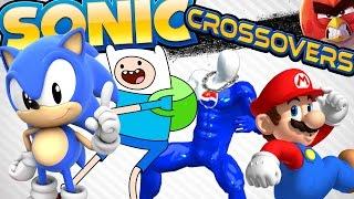 getlinkyoutube.com-Every Official Sonic the Hedgehog Crossover! - UCoW