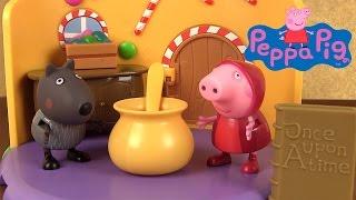 getlinkyoutube.com-Peppa Pig Le Petit Chaperon Rouge Il était une fois Histoire ♥ Little Red Riding Hood