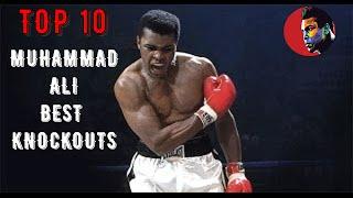 Top 10 Muhammad Ali Best Knockouts HD