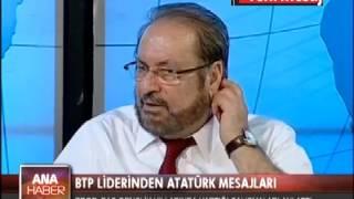 Prof. Dr. Haydar Baş, Atatürk'ü anlattı