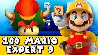 Super Mario Maker: 100 Mario Challenge (Expert #9)