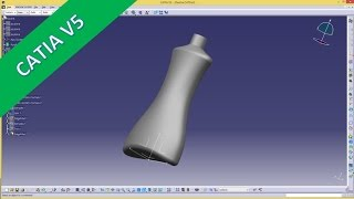getlinkyoutube.com-flasche catia v5 gsd training - multisection surface
