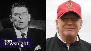 getlinkyoutube.com-How does Donald (Trump) compare to Ronald (Reagan)? - BBC Newsnight