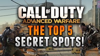 getlinkyoutube.com-COD: Advanced Warfare - THE TOP 5 SECRET SPOTS! (Advanced Warfare Glitches & Tricks)