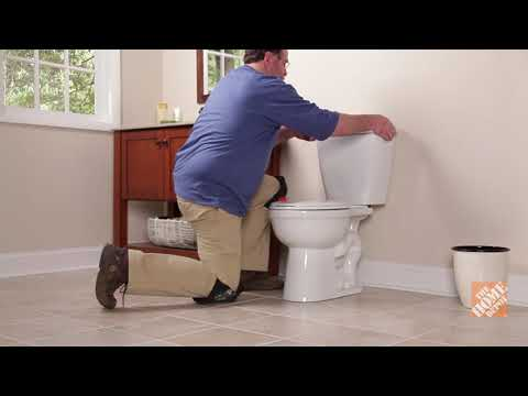 A video outlining how to replace a toilet.
