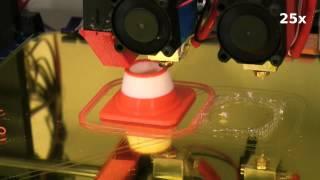 getlinkyoutube.com-DIY 3D Printer - Prusa i3 with dual extrusion