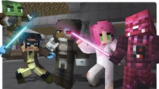 getlinkyoutube.com-Minecraft High School: Star Wars The Force Awakens! [Ep. 02 Minecraft Roleplay]