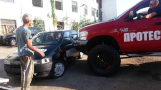 getlinkyoutube.com-Iamatuning front bumper crash test. :)(2)