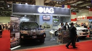 getlinkyoutube.com-IAG armoured cars for Asian market Toyota HILUX pickup Land Cruiser 200 APHS 2015 Asia Pacific
