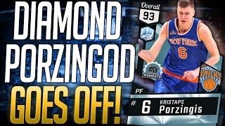 getlinkyoutube.com-NBA 2K17 MYTEAM DIAMOND KRISTAPS PORZINGOD GAMEPLAY! BEST POWER FORWARD IN THE GAME!