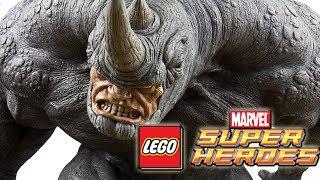 getlinkyoutube.com-LEGO Marvel Superheroes: RHINO Gameplay