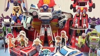getlinkyoutube.com-또봇장난감 만들기7 Making Tobot Paper Toys Craft 뽀로로 꼬마버스 타요 카봇 또봇 장난감 Surprise Opening Unboxing