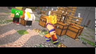 getlinkyoutube.com-Intro     Goku    Minecraft Animation