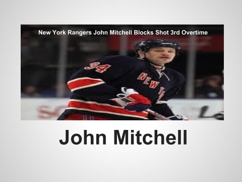 New York Rangers John Mitchell blocks shot 3rd Overtime.mp4