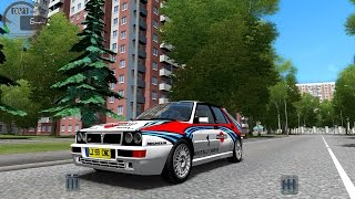 getlinkyoutube.com-City Car Driving 1.4.1 Lancia Delta Integrale HF [1080P]
