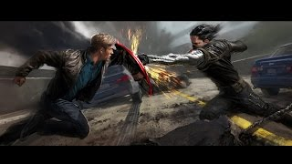 getlinkyoutube.com-Warriors - Imagine Dragons [Winter Soldier Music Video] (Fan Made)