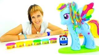 getlinkyoutube.com-Развивающее видео для детей. Весёлая Школа с ПлейДо. Rainbow Dash. Мой маленький Пони