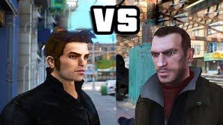 getlinkyoutube.com-GTA IV - Niko Bellic meets Claude Speed