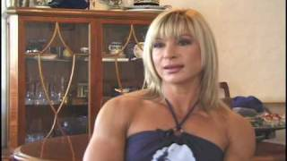 "getlinkyoutube.com-BRIEF INTERVIEW WITH ""OVER-40"" FEMALE BODYBUILDER CHAMPION VALENTINA CHEPIGA"
