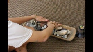 getlinkyoutube.com-ASMR - Playing with Rocks, a Wooden Box, Sounds Only!