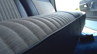 getlinkyoutube.com-How to Reupholster a Truck Seat