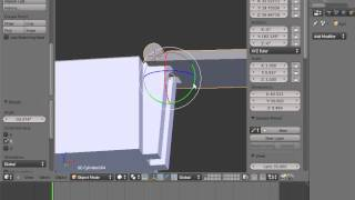 getlinkyoutube.com-Blender for 3D Printing Hollow box with a hinge)  2 of 2