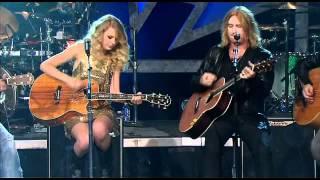 getlinkyoutube.com-Two Steps Behind (Live) - Def Leppard & Taylor Swift