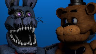 getlinkyoutube.com-[FNaF/C4D] How Nightmare Animatronics Were Born | FNaF Animation!