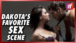 getlinkyoutube.com-#fame hollywood -​​ Dakota Johnson Reveals Her Favorite Sex Scene From Fifty Shades of Grey