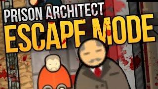 getlinkyoutube.com-I KILLED THE WARDEN - Prison Architect Escape Mode Ep. 1 ★ Escape Mode Gameplay